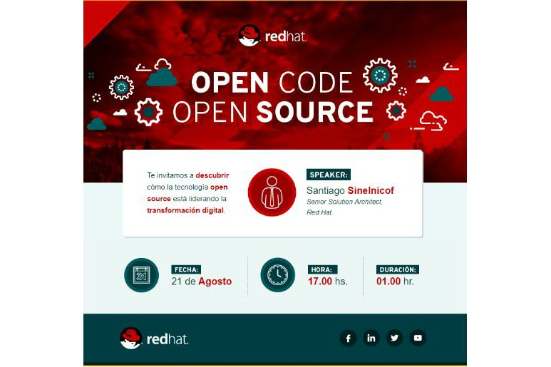 Videoconferencia: Red Hat Academy