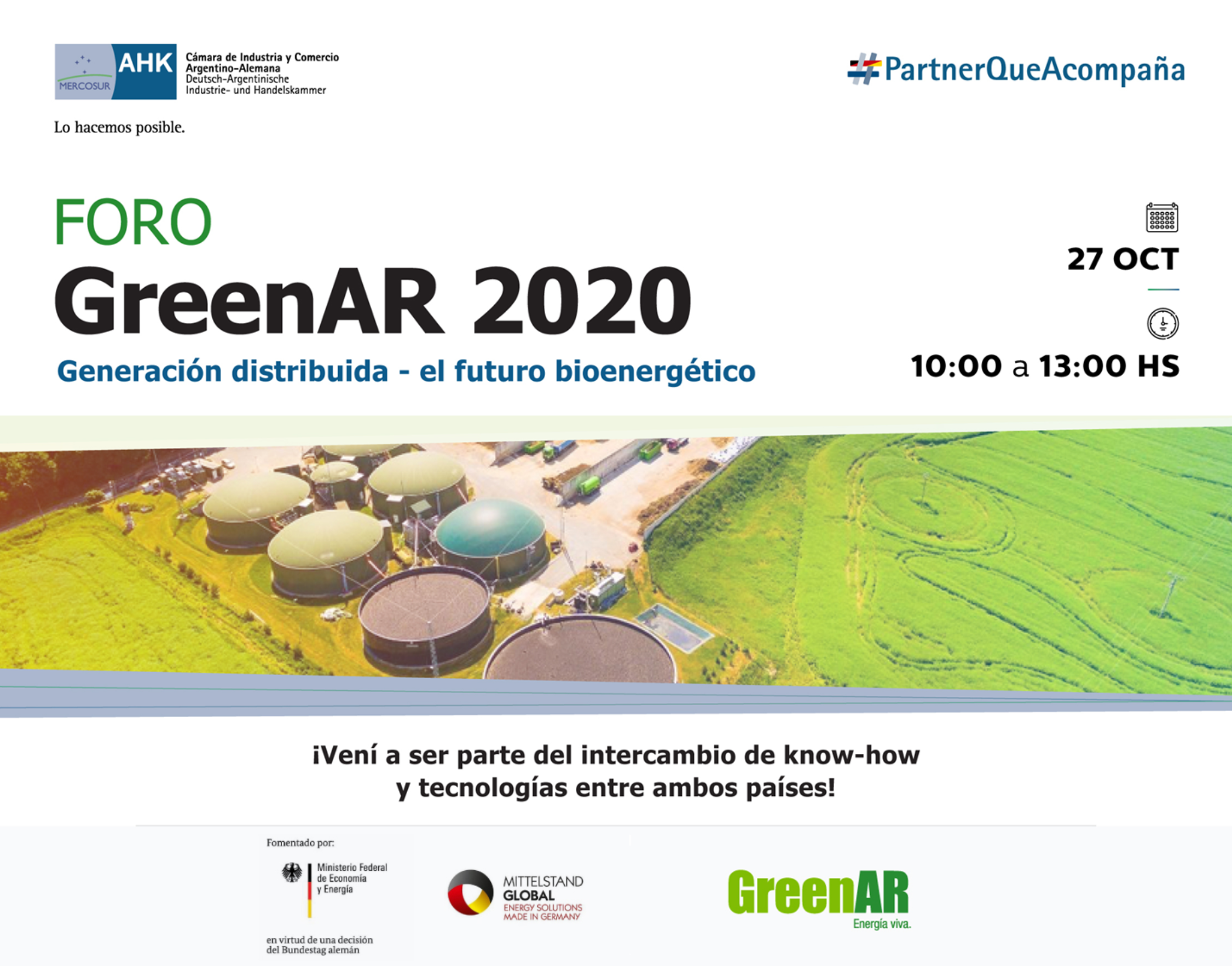 AULA GLOBAL | Foro GreenAr 2020