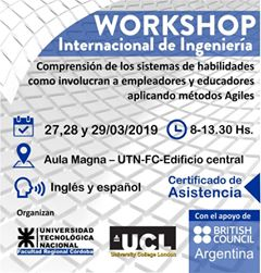 Workshop Internacional sobre Ingeniería en la UTN